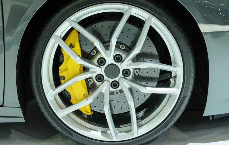 used alloys on car