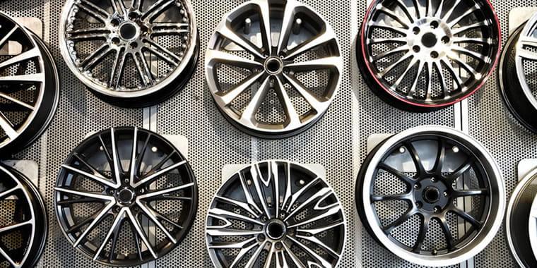 used alloy wheels